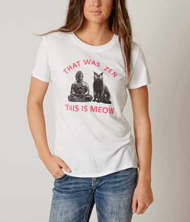 Sub Urban Riot That Was Zen This Is Meow T-Shirt