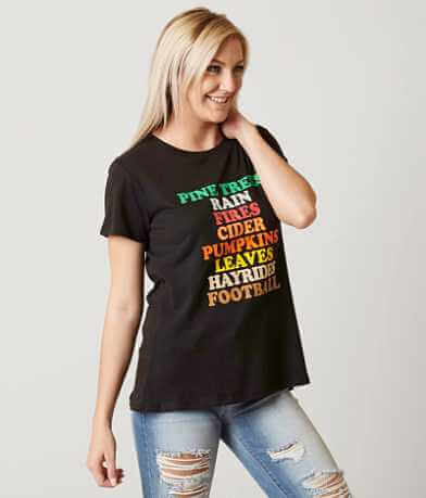 Sub Urban Riot Fall Awesome List T-Shirt