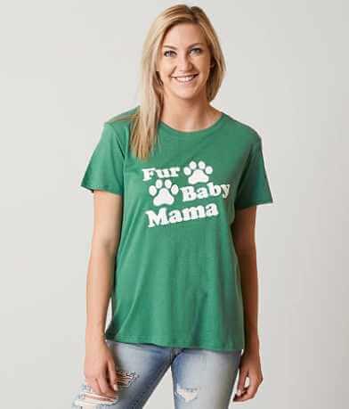Sub Urban Fur Baby Mama T-Shirt