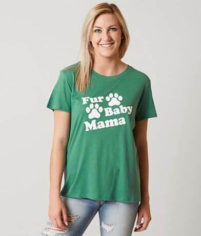 Sub Urban Riot Fur Baby Mama T-Shirt