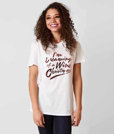 Sub Urban Riot Wine Christmas T-Shirt