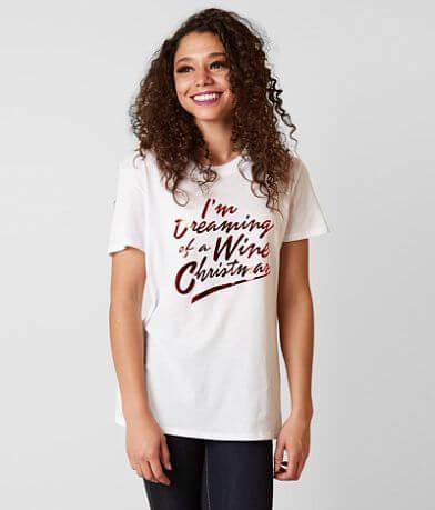 Sub Urban Riot Wine Christmas T-Shirt
