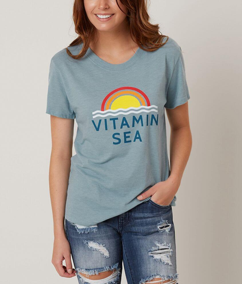 Sub Urban Riot Vitamin Sea T-Shirt front view