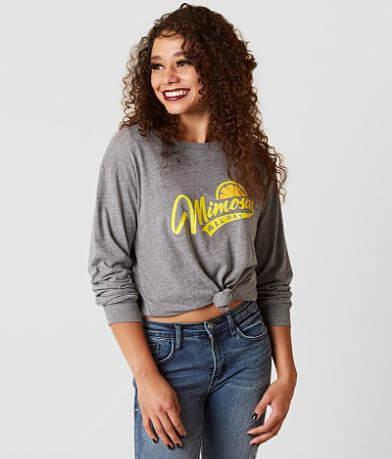 Sub Urban Riot Mimosas All Day Camp T-Shirt