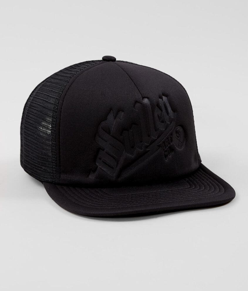 Debossed snapback hat One size fits most