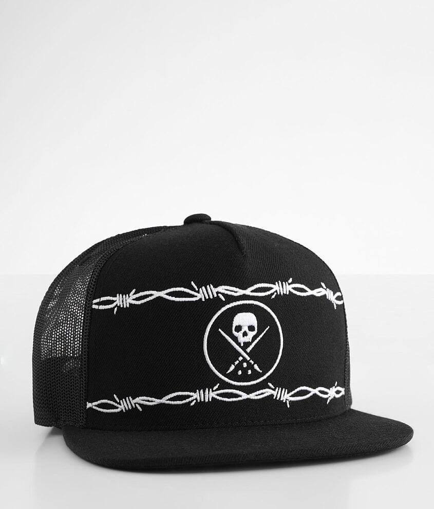 Sullen Barbed Trucker Hat front view