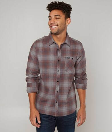 Sullen High Rise Flannel Shirt