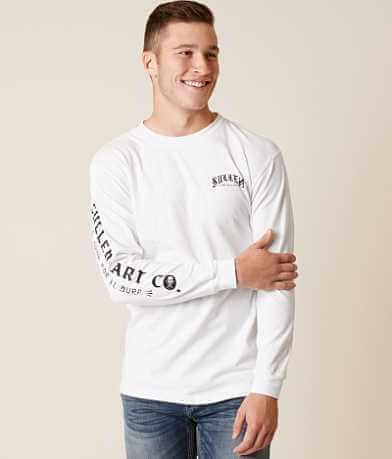 Sullen Orar Por El Surf T-Shirt