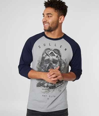 Sullen Air Flight Raglan T-Shirt