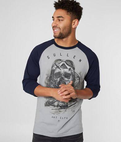 Sullen Air Flight Raglan T-Shirt