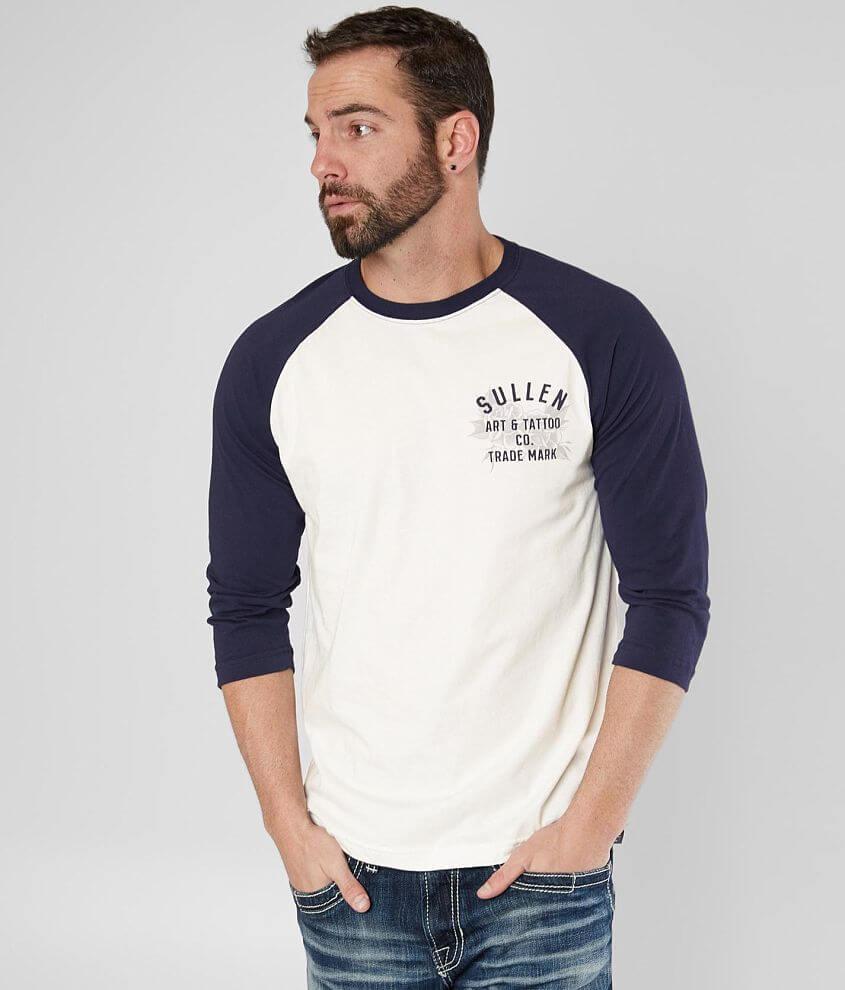 Sullen Waterdown Raglan T-Shirt front view