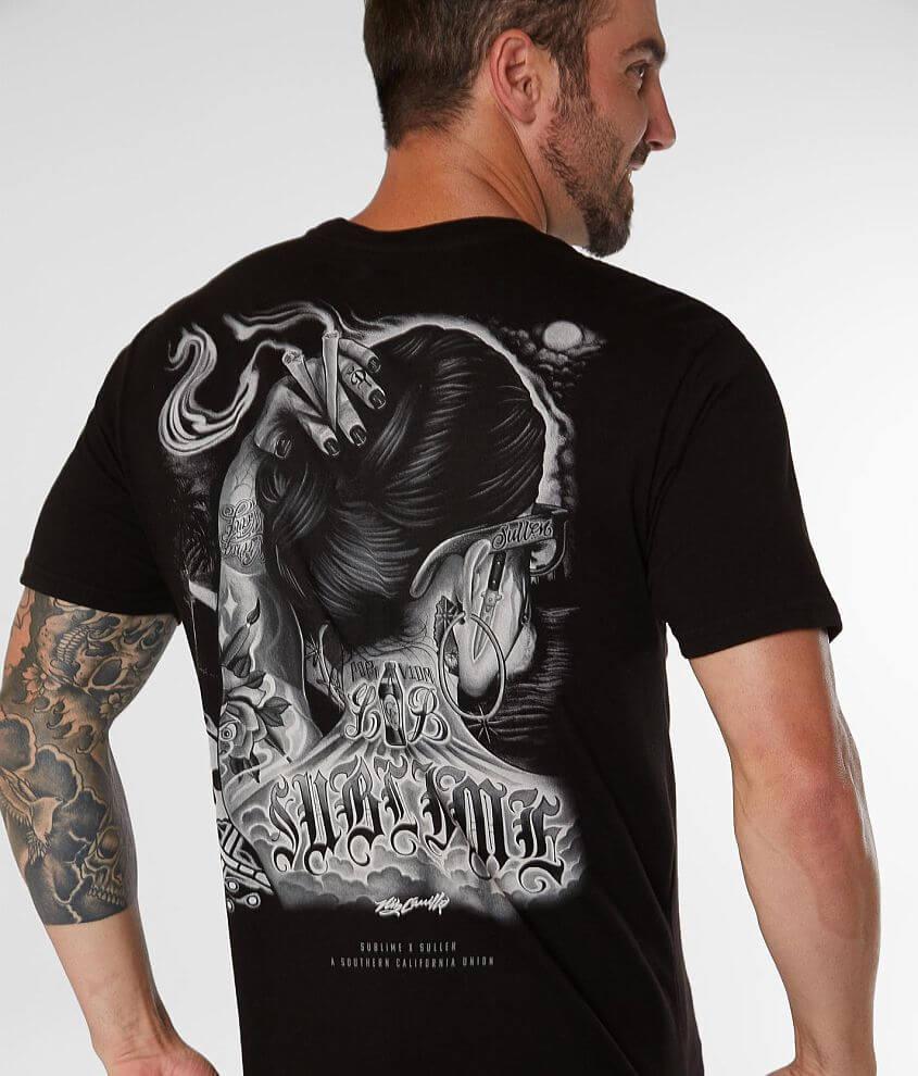 Sullen One Drop Sublime Band T-Shirt front view