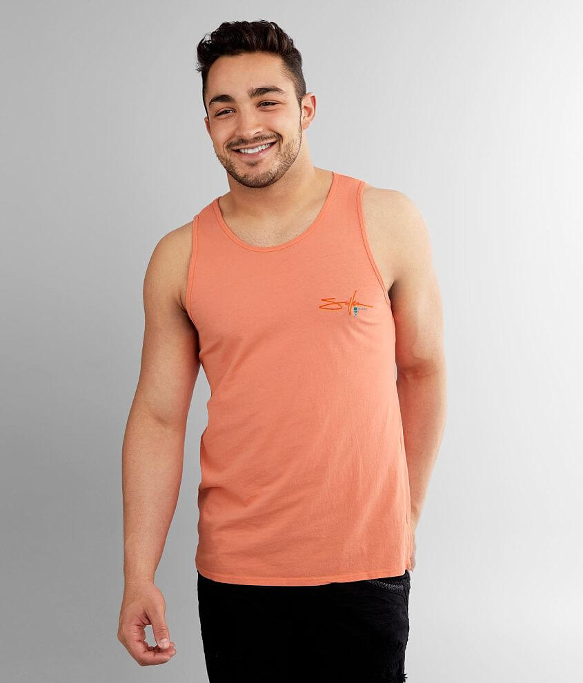 Sullen Pitted Tank Top front view