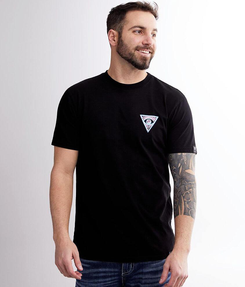 Sullen Black Sanchez T-Shirt front view