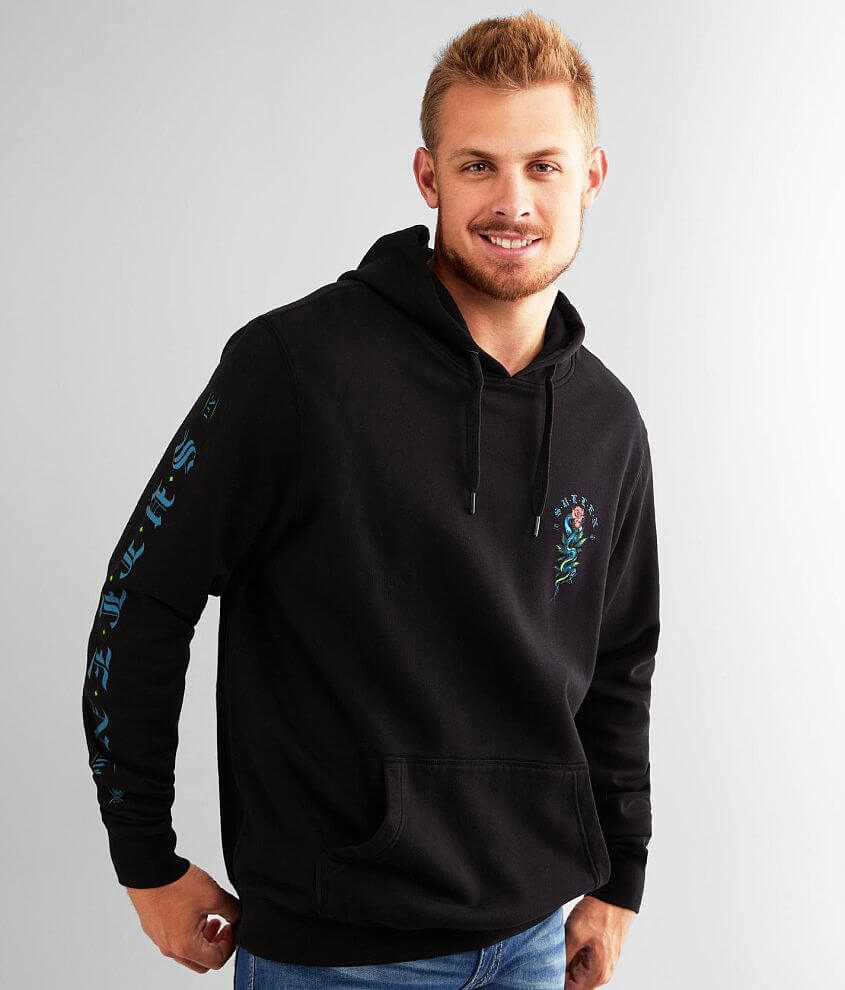 Sullen Black Mamba Hooded Sweatshirt front view