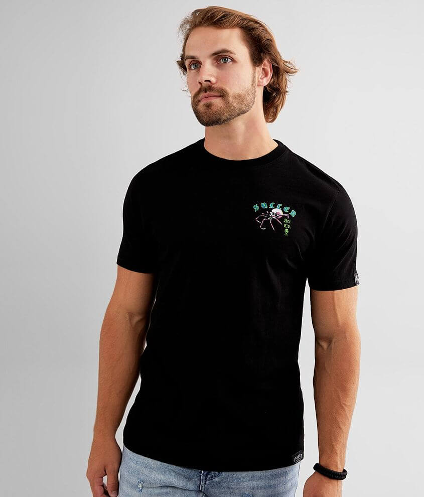 Sullen Taylor Skull T-Shirt front view