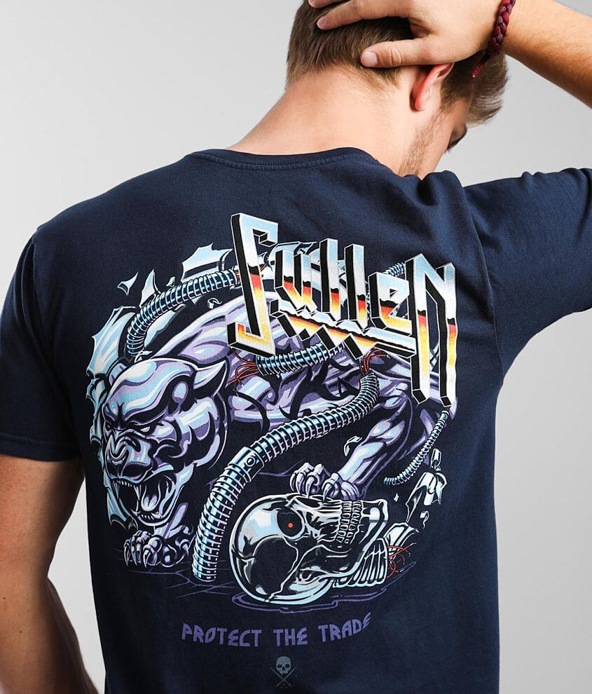Sullen Chromed T-Shirt front view