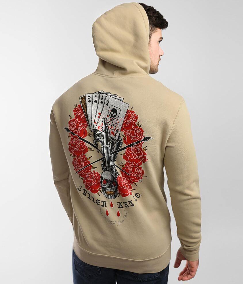 Sullen Death Dealer Hooded Sweatshirt front view