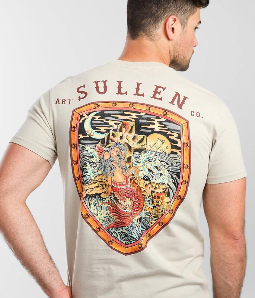 Sullen Rock Of Mermaids T-Shirt front view