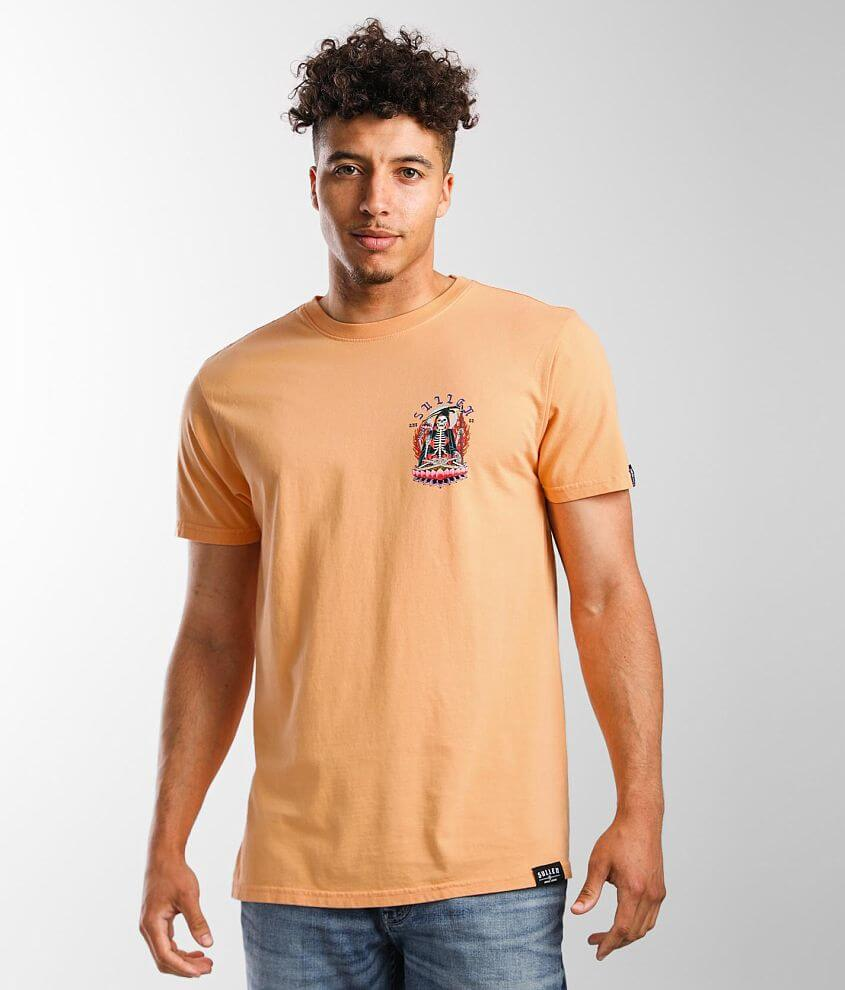 Sullen Lotus Flower T-Shirt front view