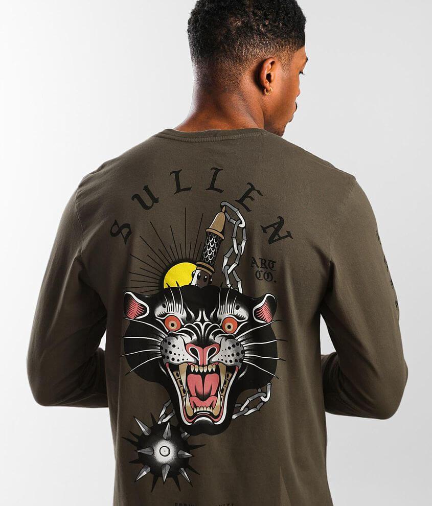Sullen Mace Cat T-Shirt front view