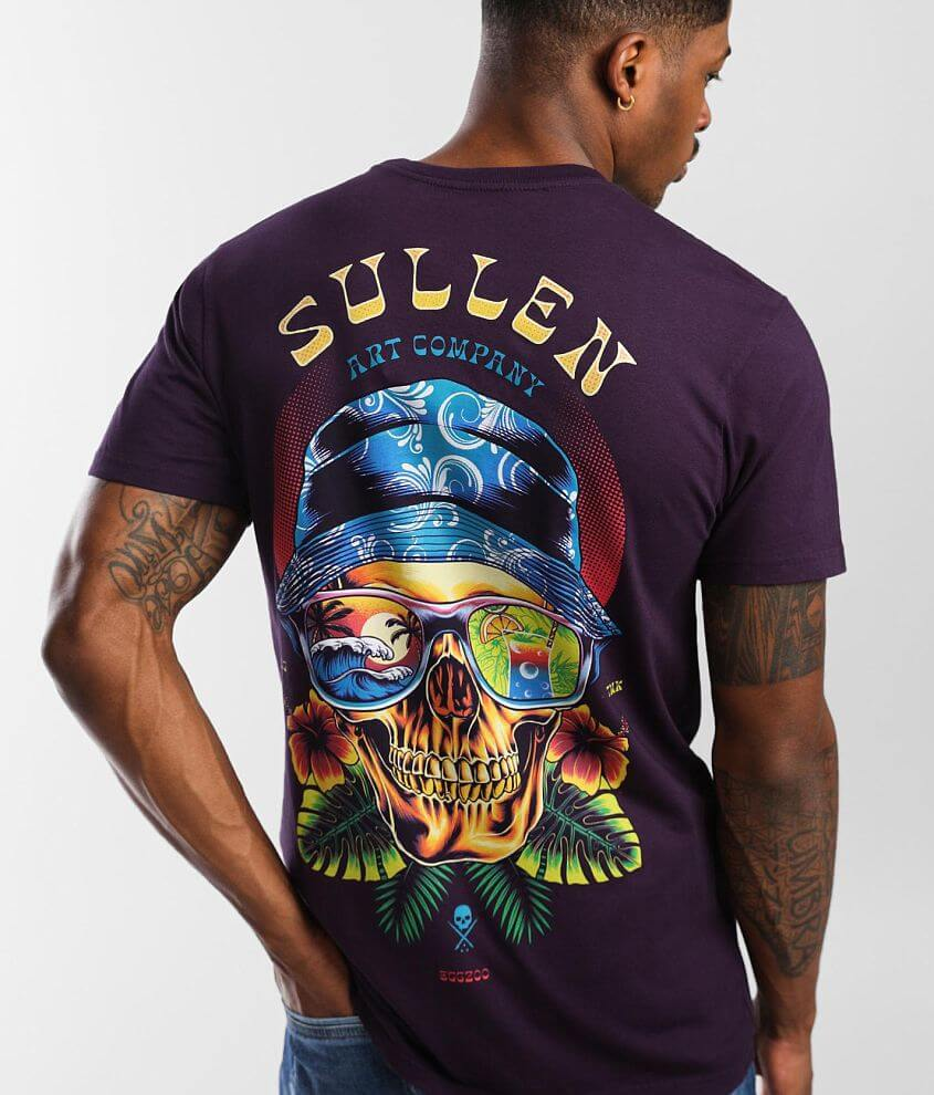 Sullen Tropical Visions T-Shirt front view