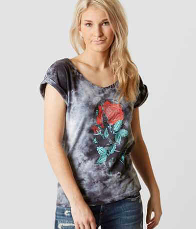 Sullen Angels Snake Jewel T-Shirt