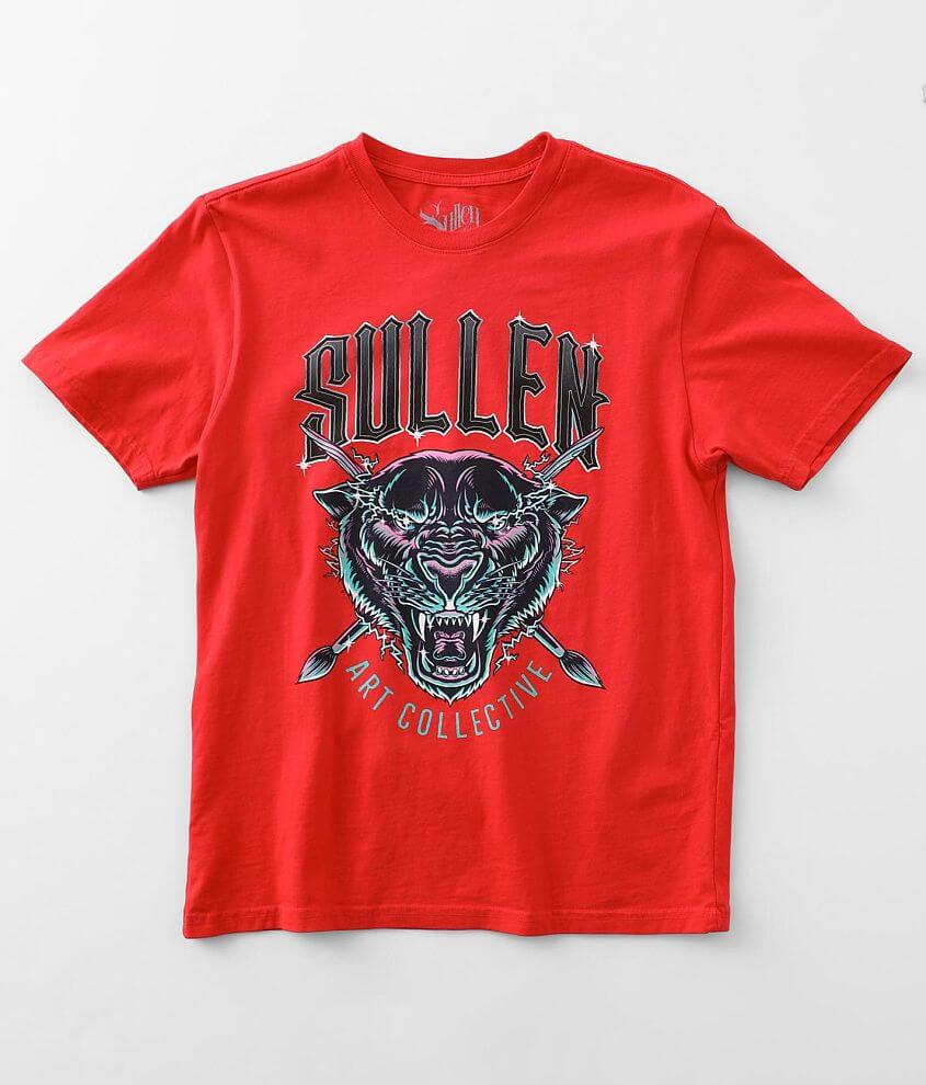 Sullen Angels Charged T-Shirt front view