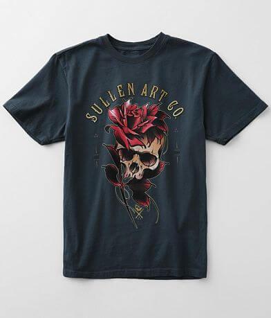 Sullen Angels Jake Skull T-Shirt