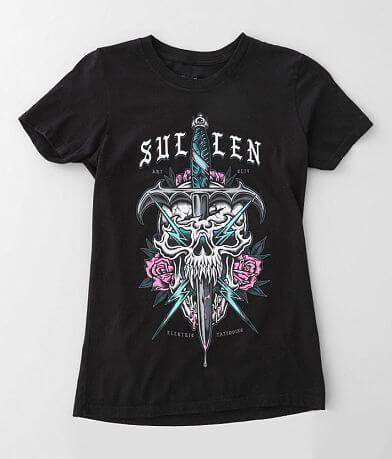 Sullen Angels Zap Dagger T-Shirt