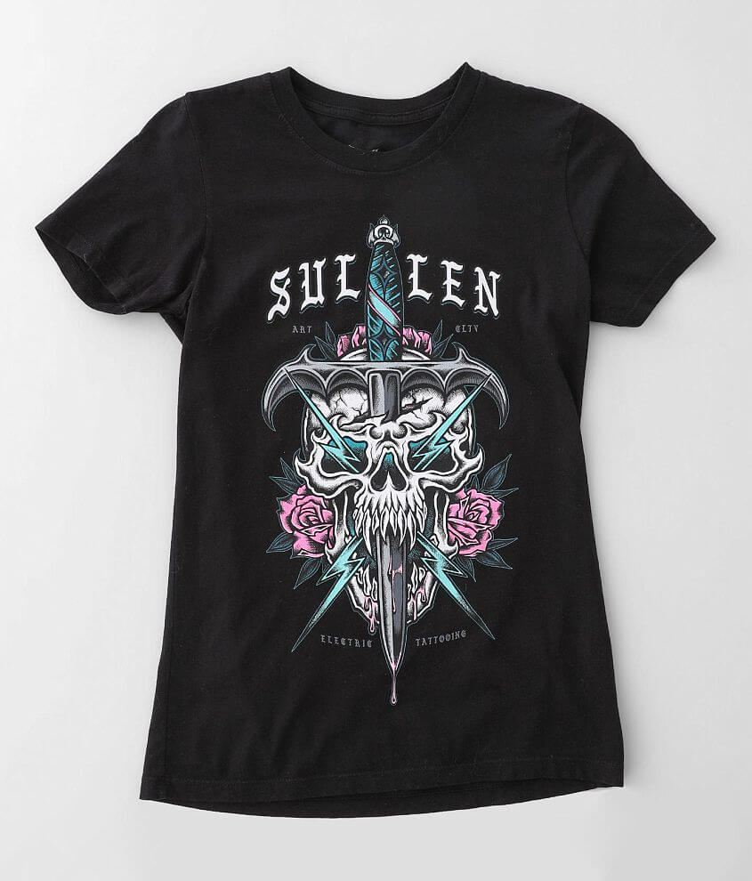 Sullen Angels Zap Dagger T-Shirt front view