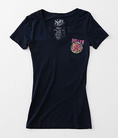 Sullen Angels Fire Rose T-Shirt