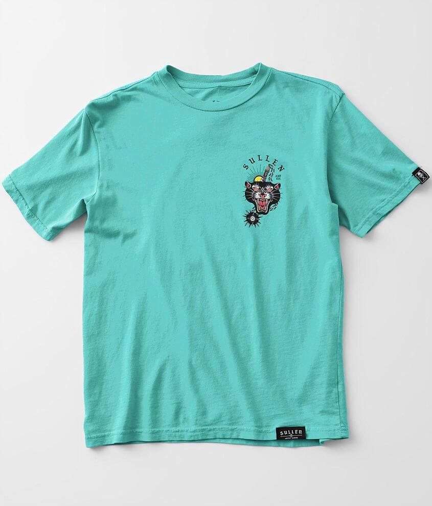 Boys - Sullen Mace Cat T-Shirt front view