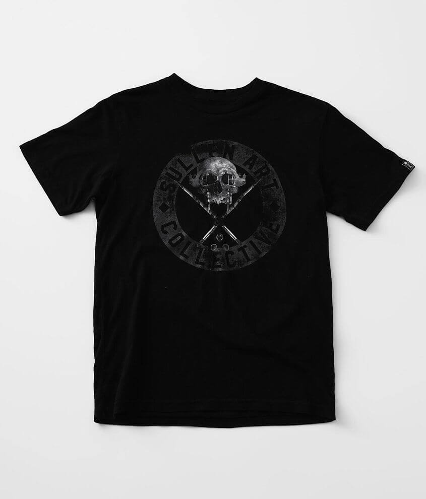 Boys - Sullen Farrar Badge T-Shirt front view