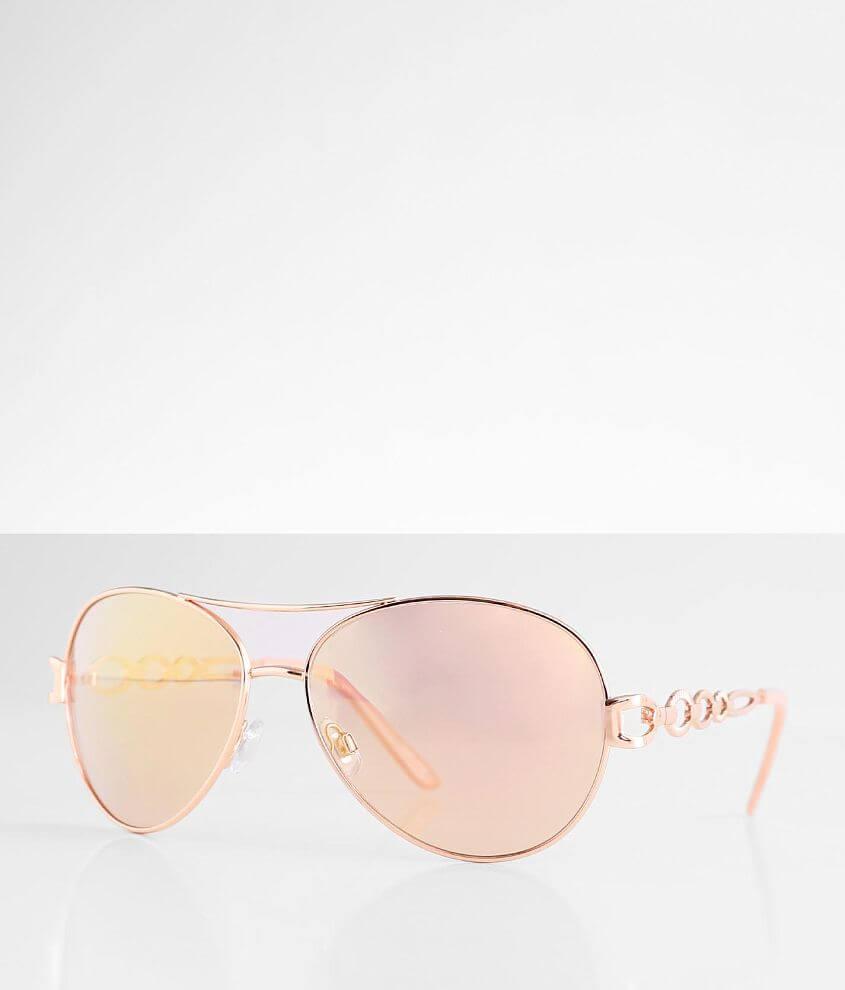 BKE Rosey Aviator Sunglasses front view