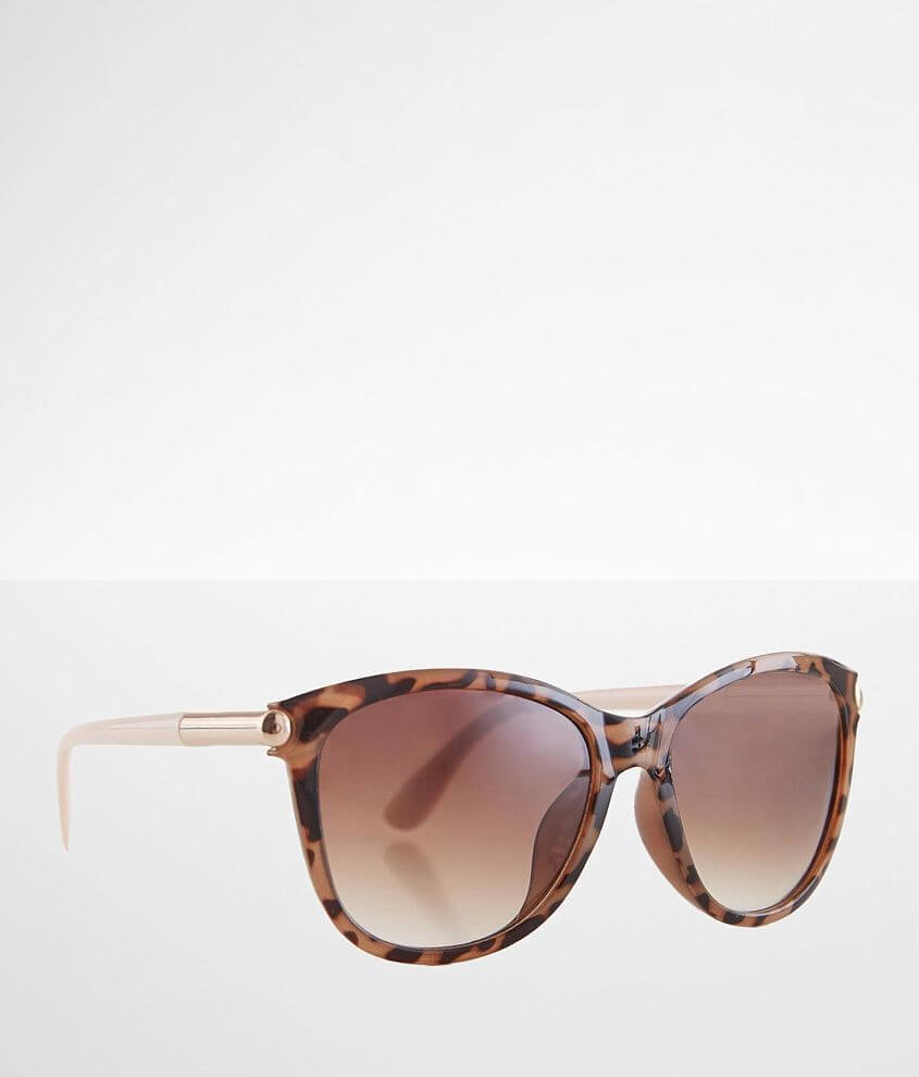 BKE Tort Sunglasses front view