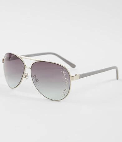 BKE Glitz Aviator Sunglasses