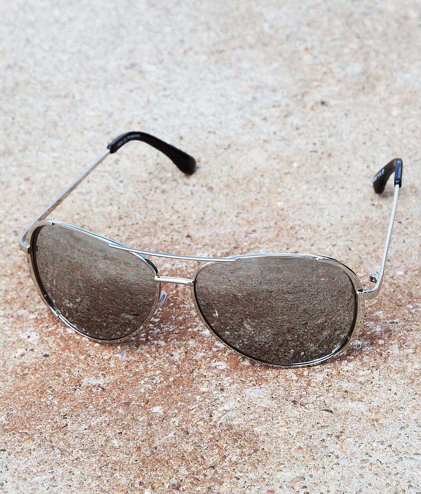 BKE Mirrored Aviator Sunglasses front view
