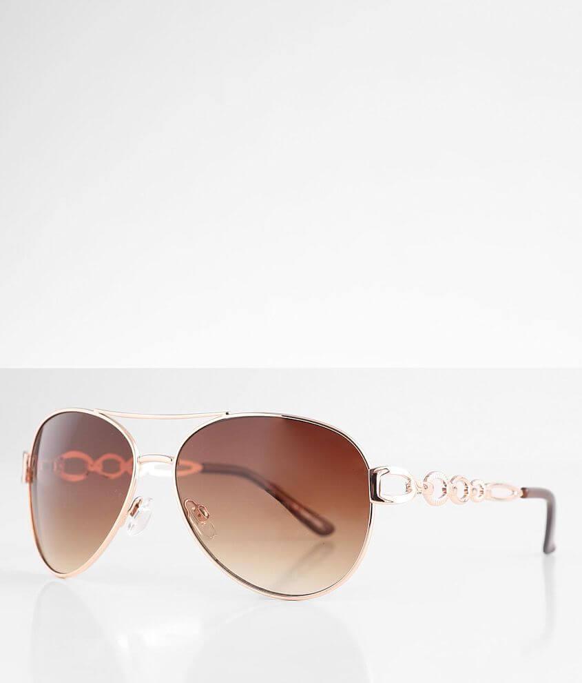 BKE Gradient Aviator Sunglasses front view