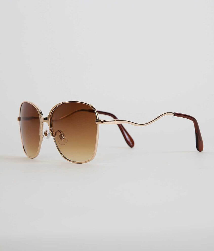 BKE Wavy Sunglasses front view