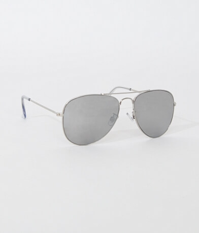 BKE Mirror Aviator Sunglasses
