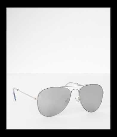 BKE Mirror Aviator Sunglasses