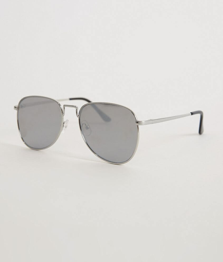 BKE Flat Aviator Sunglasses front view