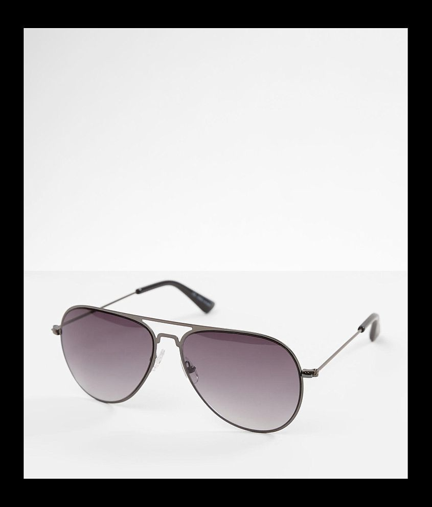 BKE Refined Aviator Sunglasses front view