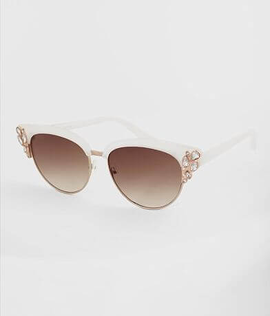 BKE Glitz Cat Eye Sunglasses