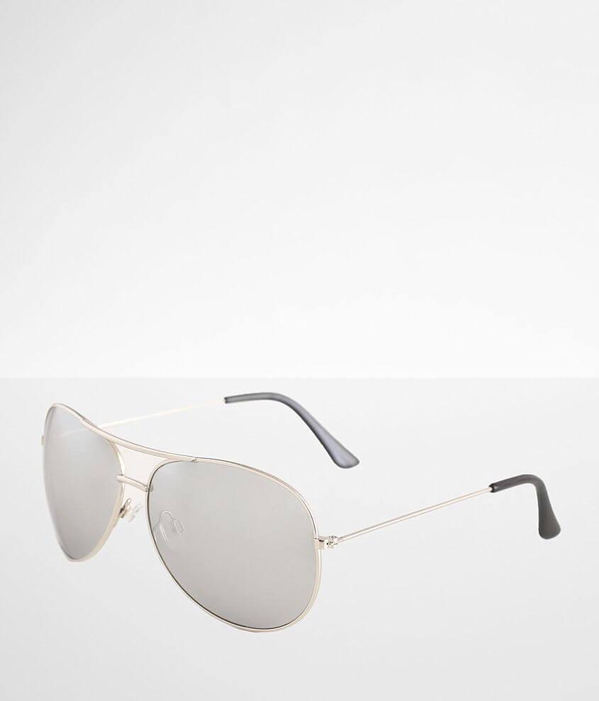 BKE Mirror Aviator Sunglasses front view