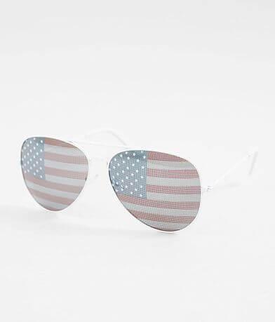 BKE USA Aviator Sunglasses
