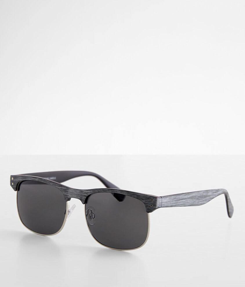 BKE Woodgrain Sunglasses front view