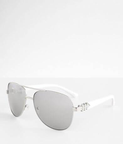 BKE Mirrored Aviator Sunglasses
