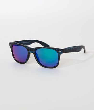 BKE Blue Wood Sunglasses